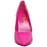 Fucsia Charol 13 cm SEDUCE-420 zapatos de salón puntiagudos