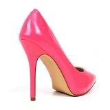 Fucsia Neon 13 cm AMUSE-20 zapatos tacón de aguja puntiagudos