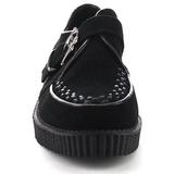 Gamuza 2,5 cm CREEPER-605 Zapatos de Creepers Hombres Plataforma