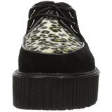 Gamuza 5 cm CREEPER-400 Zapatos de Creepers Hombres Plataforma
