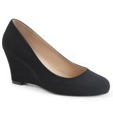 Gamuza 7,5 cm KIMBERLY-08 zapatos de salón tallas grandes