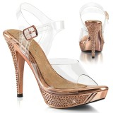 Gold Rosee 11,5 cm ELEGANT-408 zapatos bikini competicion y bikini fitness
