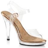 Gold Rosee 11,5 cm FLAIR-408 zapatos bikini competicion y bikini fitness