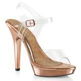 Gold Rosee 13 cm LIP-108 zapatos bikini competicion y bikini fitness
