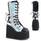 Holograma 14 cm SWING-120 botas góticos con plataforma
