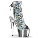 Holograma 18 cm ADORE-1018HG botines con suela plataforma mujer