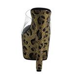 Leopardo 18 cm BEJEWELED-701LP Piedras Brillantes Plataforma Zapatos