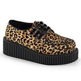 Leopardo 5 cm CREEPER-112 creepers zapatos mujeres con suela gruesa