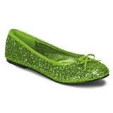 Lima STAR-16G brillo zapatos de bailarinas mujer planos