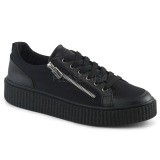 Lona 4 cm SNEEKER-105 Zapatos sneakers creepers hombres
