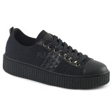 Lona 4 cm SNEEKER-107 Zapatos sneakers creepers hombres