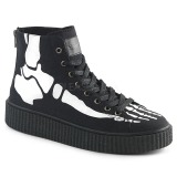 Lona 4 cm SNEEKER-252 Zapatos sneakers creepers hombres