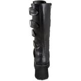 Mate 8,5 cm TRASHVILLE-518 Botas de Goticas Hombres Plataforma