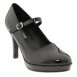 Negro 10 cm CONTESSA-50 Mary Jane Zapato de Salón