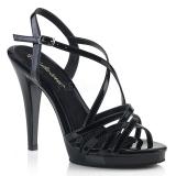 Negro 11,5 cm FLAIR-413 Zapatos Fabulicious Plataforma