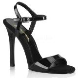 Negro 11,5 cm GALA-09 fabulicious sandalias de tacón aguja