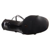Negro 11,5 cm GALA-41 Sandalias tacón de aguja