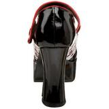 Negro 11 cm QUEEN-55 Zapatos de tacón altos mujer