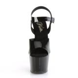 Negro 18 cm ADORE-708N Zapatos Tacón Aguja Plataforma