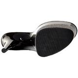 Negro 20 cm FLAMINGO-801-3 Piedras Brillantes Plataforma Zapatos