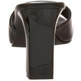 Negro 8,5 cm ROMANCE-301-2 Zuecos de mujer para Hombres