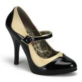 Negro Beige 11,5 cm TEMPT-07 Zapatos de tacón altos mujer