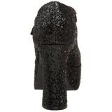Negro Brillo 11 cm MARYJANE-50G Plataforma Zapato Salón Mary Jane