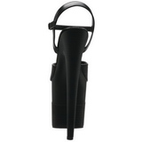 Negro  Brillo 20 cm Pleaser FLAMINGO-809-2G Tacones Altos Plataforma