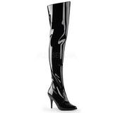 Negro Charol 10,5 cm VANITY-3010 over knee botas altas con tacón