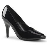 Negro Charol 10 cm DREAM-420 Zapatos de Salón para Hombres