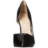 Negro Charol 13 cm AMUSE-22 Zapato Salón Clasico para Mujer