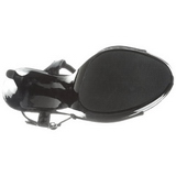 Negro Charol 13 cm COCKTAIL-509 Plataforma sandalias tacón mujer
