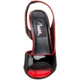 Negro Charol 13 cm SEDUCE-117 High Heels Sandalias Femininas