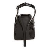 Negro Charol 13 cm SEDUCE-317 Zapatos de Salón