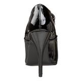 Negro Charol 13 cm SEDUCE-460 Calzado de Salón Oxford Tacón
