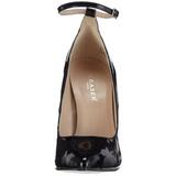 Negro Charol 13 cm SEXY-23 Zapato Salón Clasico para Mujer