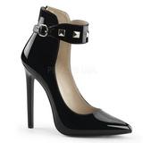 Negro Charol 13 cm SEXY-31 Zapato Salón Clasico para Mujer