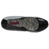 Negro Charol 14,5 cm Burlesque BORDELLO TEEZE-06 Plataforma Zapatos de Salón