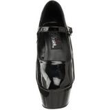 Negro Charol 15 cm KISS-280 Zapatos de tacón altos mujer