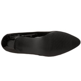 Negro Charol 5 cm FAB-420W Zapatos de Salón para Hombres