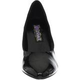 Negro Charol 7,5 cm PUMP-420 Zapato Salón Clasico para Mujer