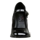 Negro Charol 8 cm GOGO-50 Zapatos de Salón