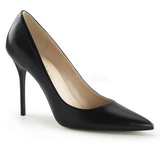 Negro Mate 10 cm CLASSIQUE-20 Stiletto Zapatos Tacon de Aguja