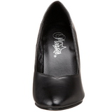 Negro Mate 10 cm DREAM-420 Calzado de Salón Planos Tacón