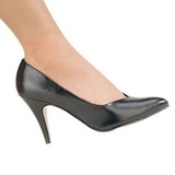 Negro Mate 10 cm DREAM-420 Zapatos de Salón para Hombres