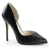 Negro Mate 13 cm AMUSE-22 Zapatos de Salón para Hombres