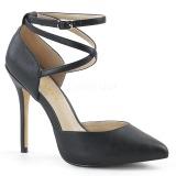 Negro Mate 13 cm AMUSE-25 Zapatos de Salón para Hombres