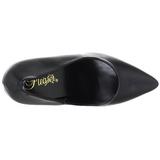 Negro Mate 13 cm SEDUCE-420 zapatos de salón puntiagudos