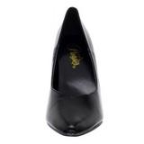 Negro Mate 13 cm SEDUCE-420V Zapatos de Salón para Hombres