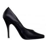 Negro Mate 13 cm SEDUCE-420V zapatos de salón puntiagudos